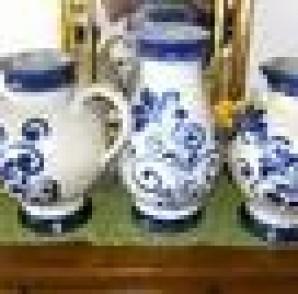 Kannegießer Keramik Krüge 3 Stck 40-50 cm hoch abzugeben