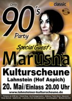 "90er Party - special Guest ""Marusha"""