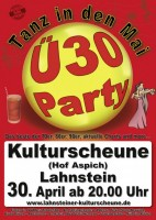 "Ü-30 Party zum ""Tanz in den Mai"""