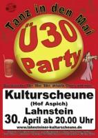 """Ü-30 Party zum """"Tanz in den Mai"""""""