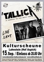 TallicA - Tribute Show to Metallica
