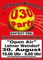 Ü-30 Party - Eintritt Frei - Open Air