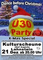 Dance before Christmas - Ü-30 Party