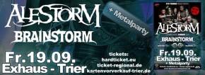 Alestorm / Brainstorm / Troldhaugen