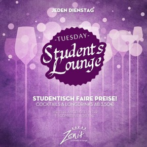 Tuesday Students Lounge