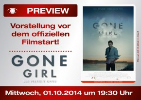 """PREVIEW """"Gone Girl"""""""