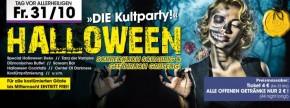HALLOWEEN - Die No. 1 Party der Region!