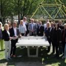 Lions Club spendiert Koblenzer Schängeln Tischtennisplatten für sechs Spielplätze