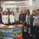 Stadtverwaltung Koblenz präsentierte sich bei azubi- und studientagen