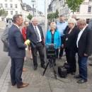 Neues Geschwindigkeitsmessgerät in Ehrenbreitstein präsentiert - Gerät arbeitet mit Lasertechnik
