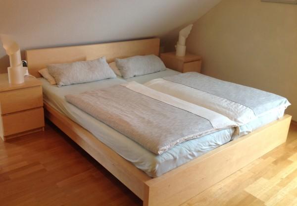 IkEA Bett Malm mit Lattenrost zu verkaufen  Großer